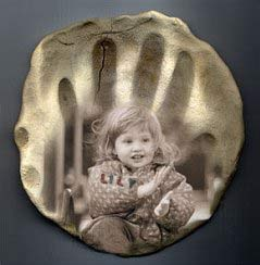 special effects - superimposed photo of child